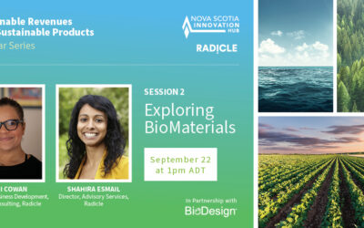 Sustainable Revenues from Sustainable Products: Exploring BioMaterials Session Recording